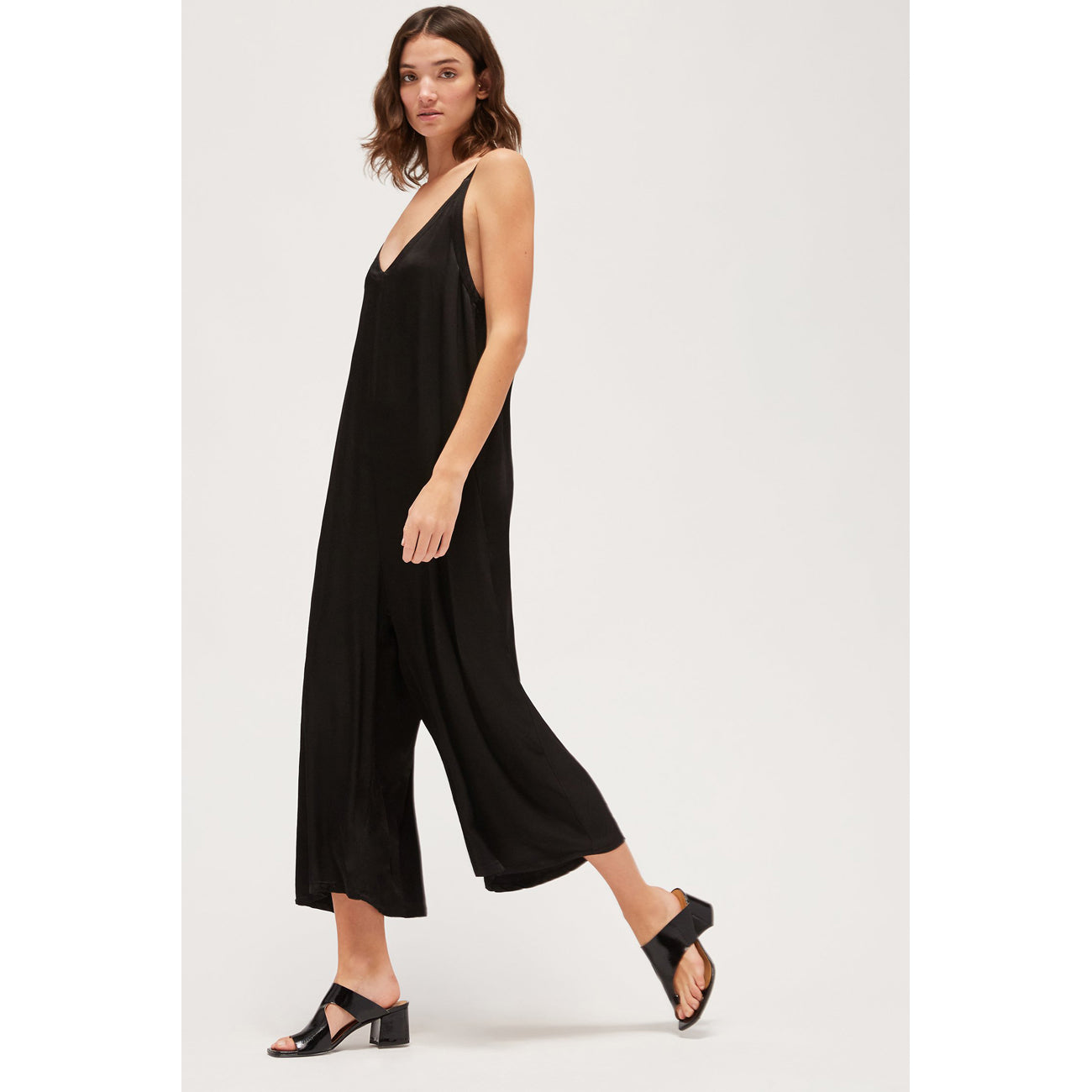 santi jumpsuit in tar