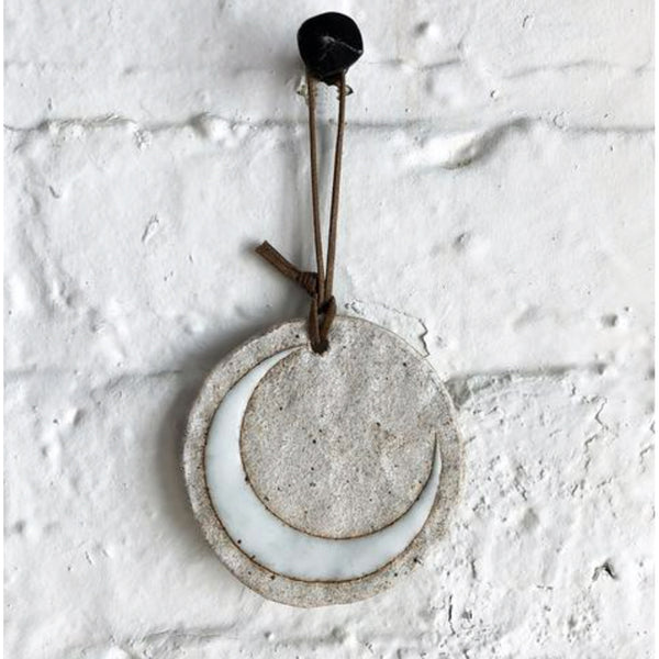 MQuan Ornament: Glazed Crescent