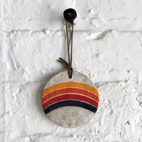 MQuan Holiday Ornament: Rainbow Rings