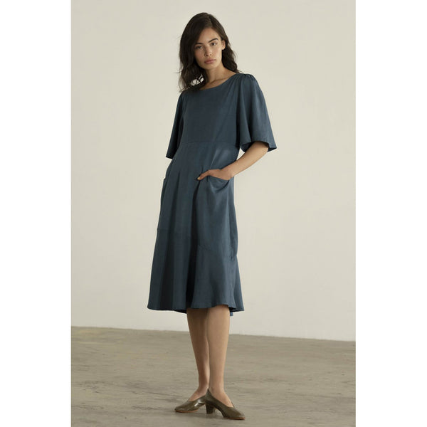 Maria Stanley Hailey Dress in Cerulean
