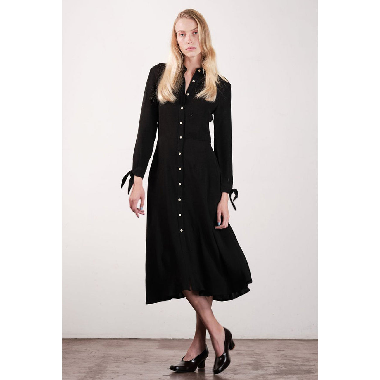 lane dress in noir