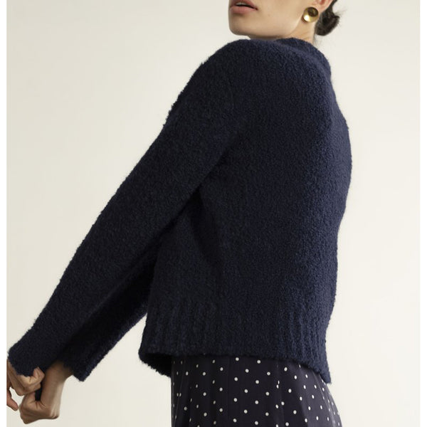 Maria Stanley Virgil Sweater in Navy