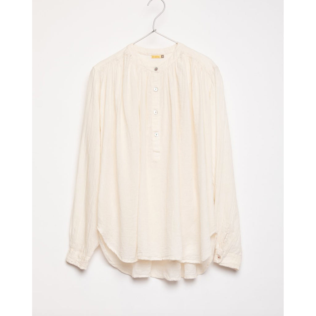 bheeti top in ivory
