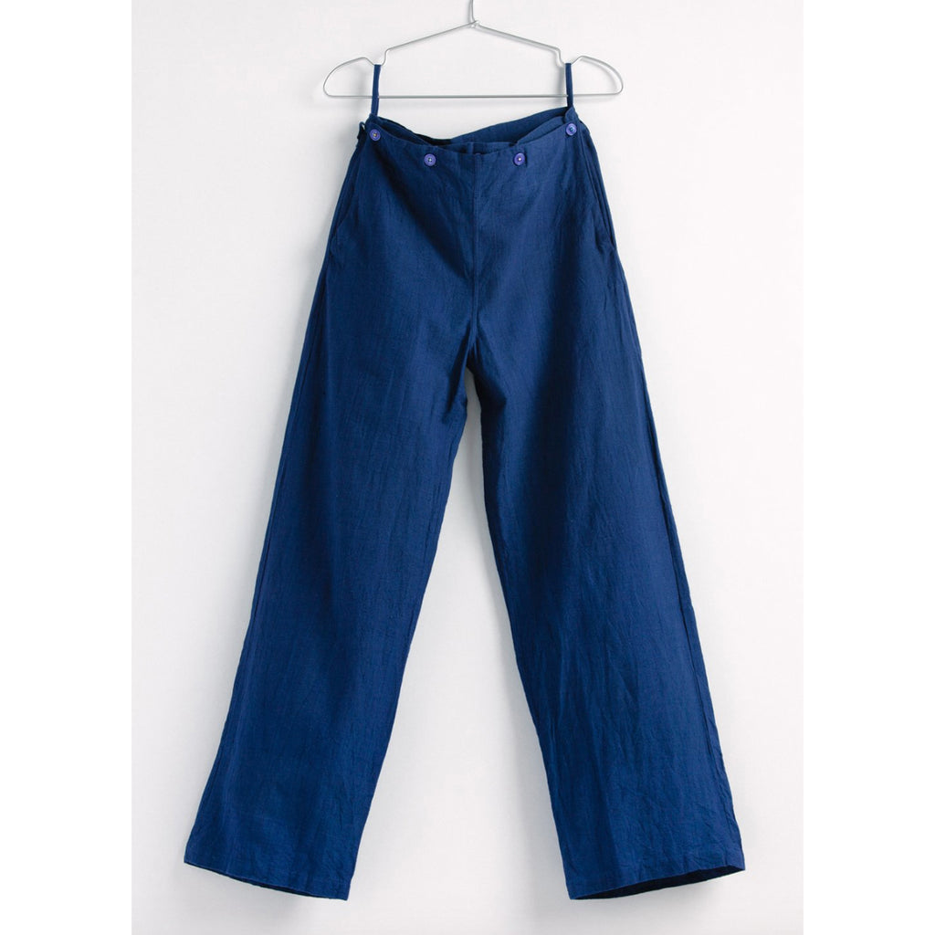 louise pant in indigo