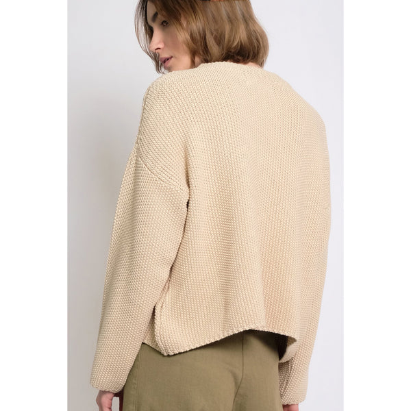 Micaela Greg Seed Sweater in Sand