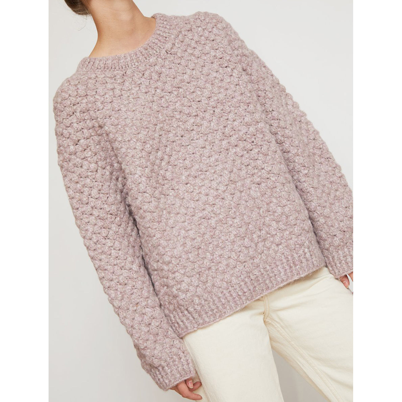 bryce sweater in lilac