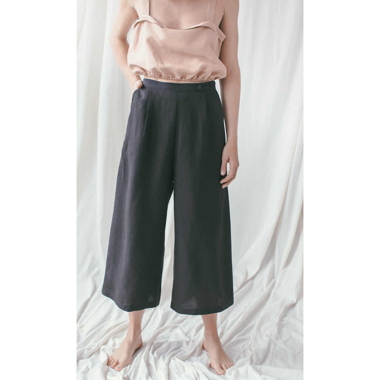 Ozma Studio Trouser in Onyx
