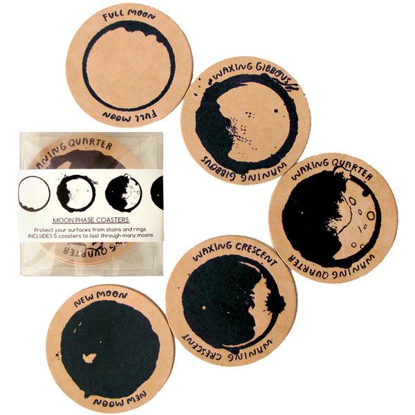 People I've Loved Moon Phase Coasters