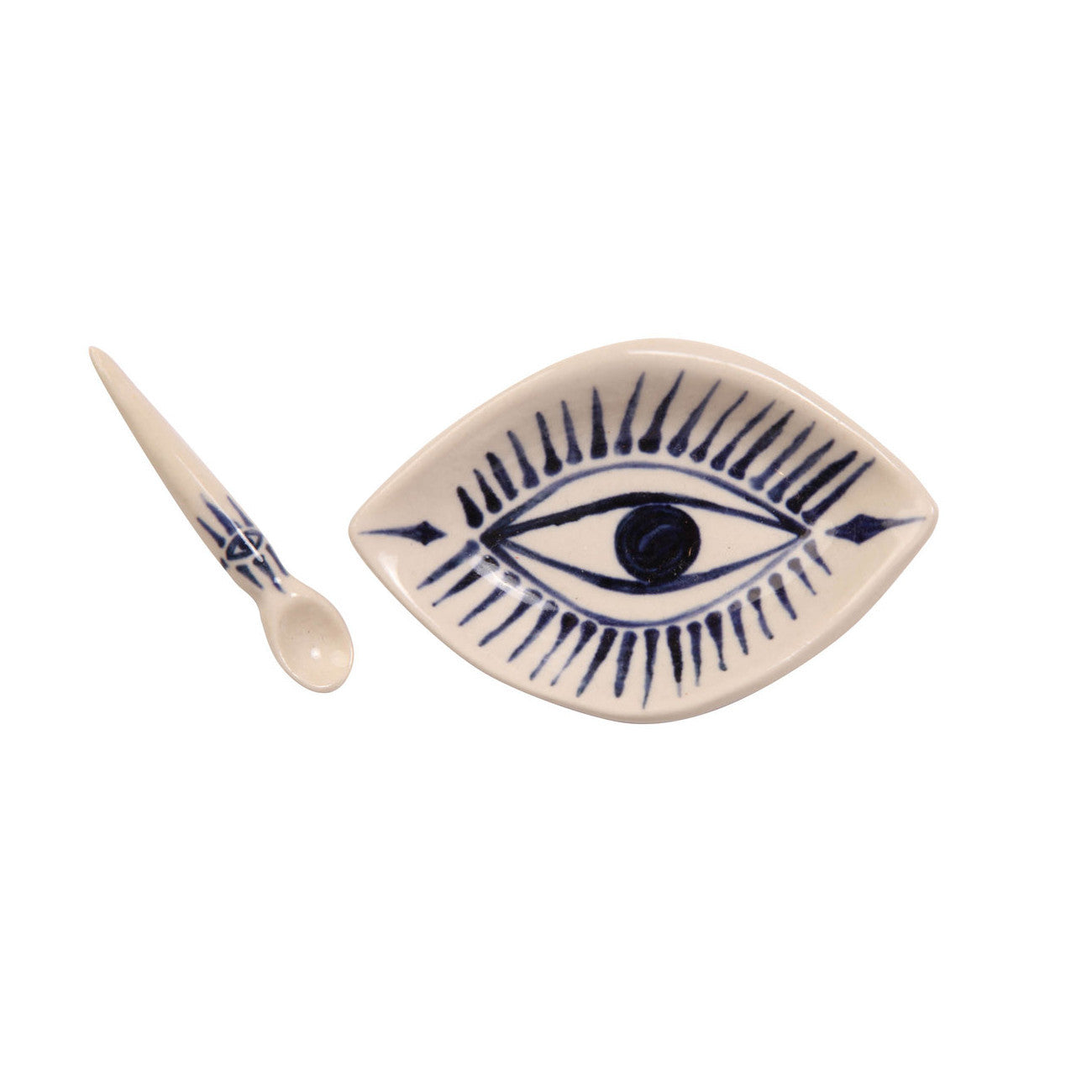 demetria chappo spirit eye spice cellar with matching spoon