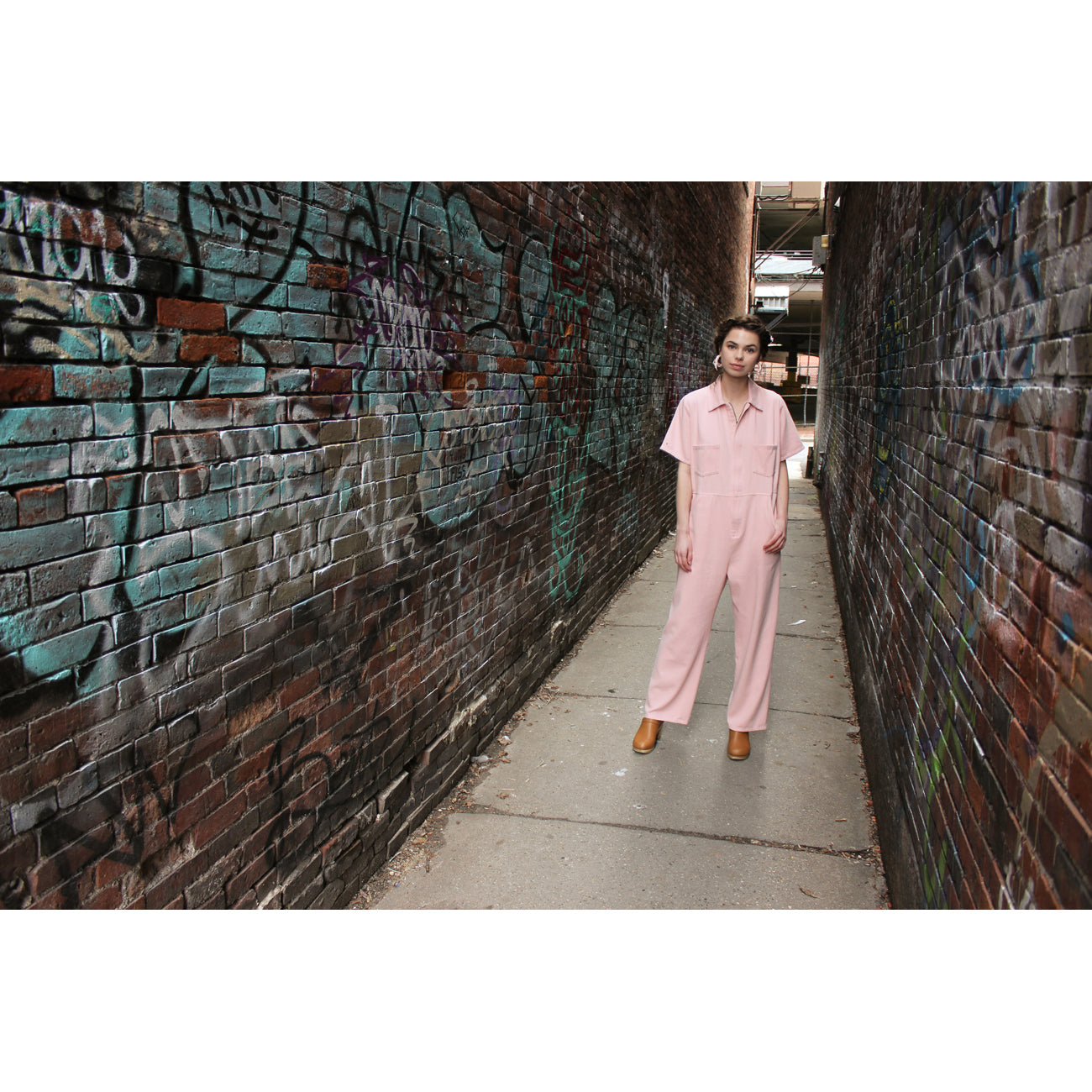 No.6 Freya Coverall in Blush