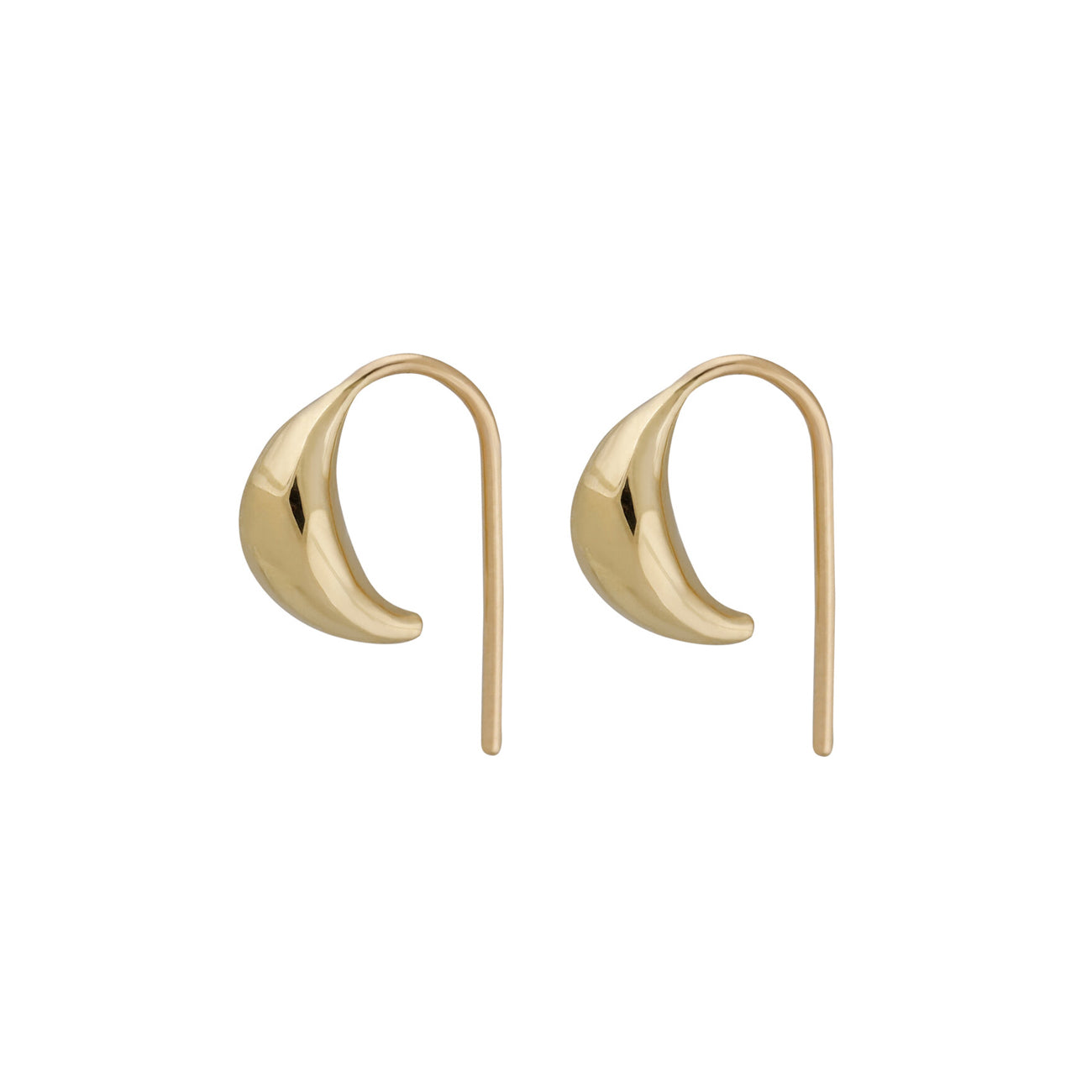 pilar earring in gold