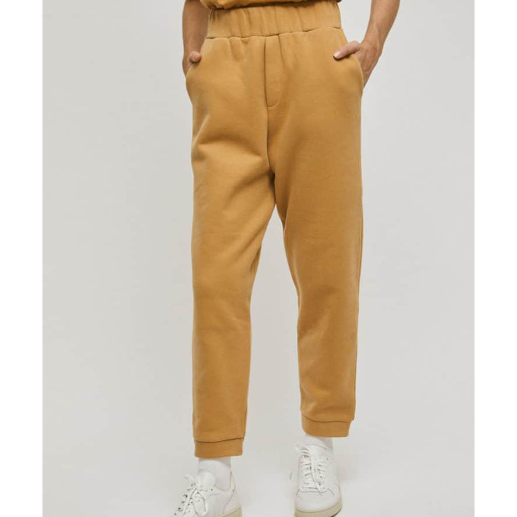 vela pants in brown