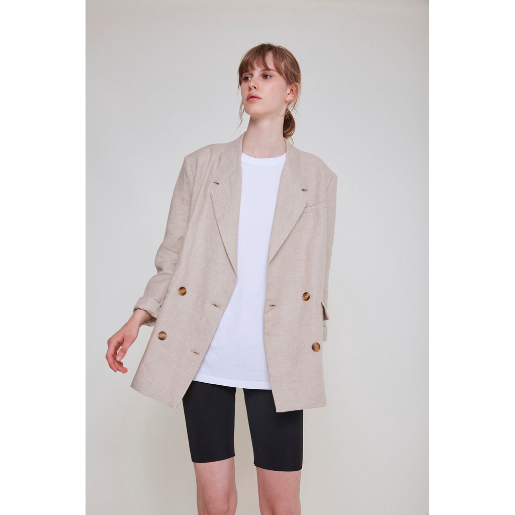 martia blazer in natural