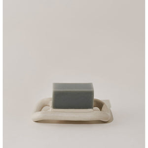 raft soap dish in white