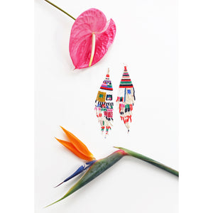otti beaded earrings