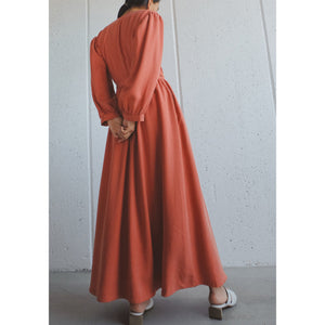 anita dress in fuego
