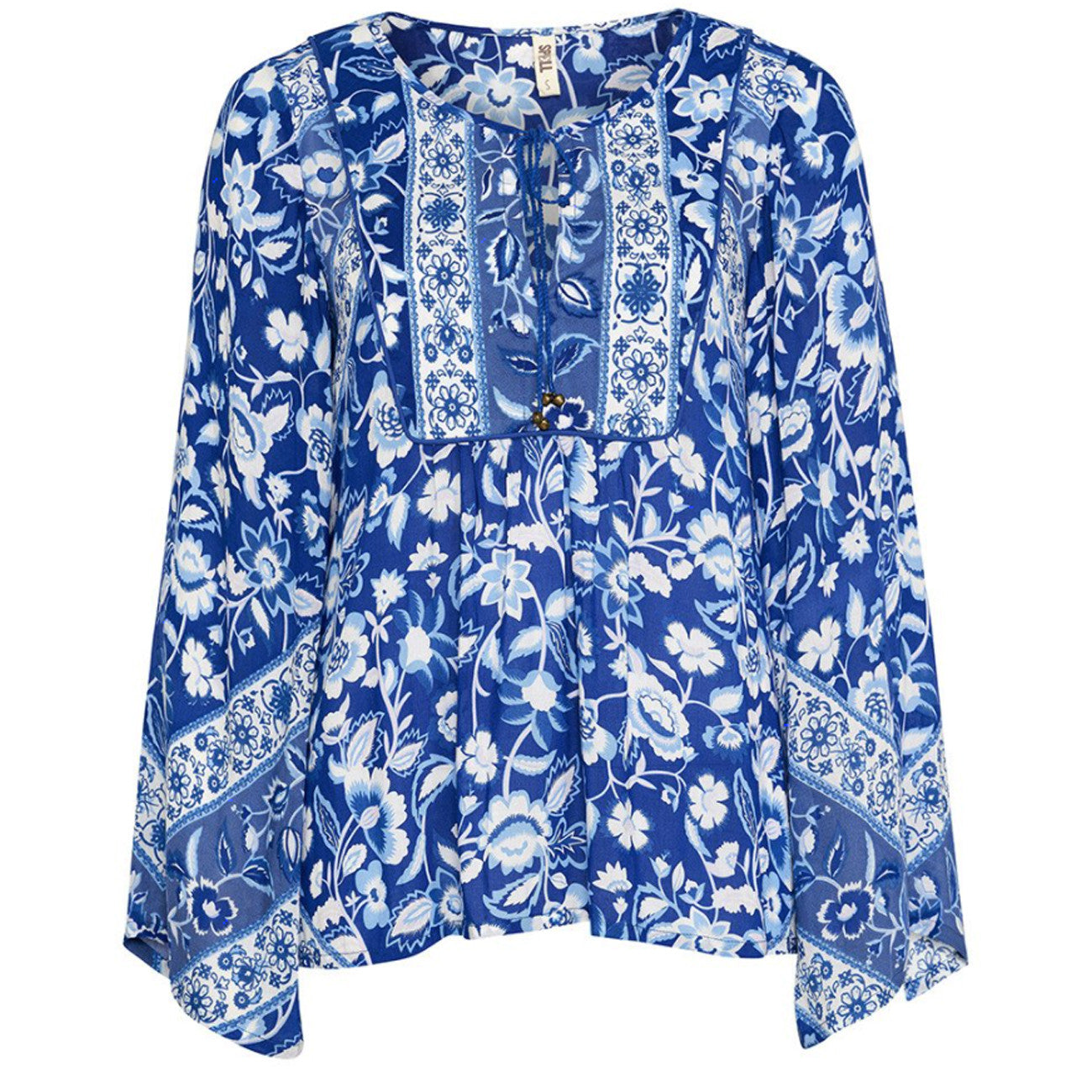 Spell and The Gypsy Collective Lolita Blouse in Bluebelle