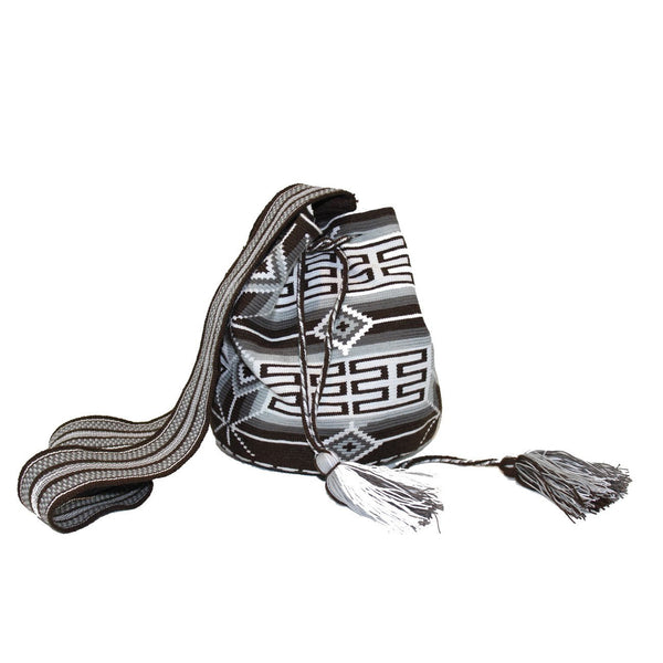 Slate Grey Large Wayuu Bag