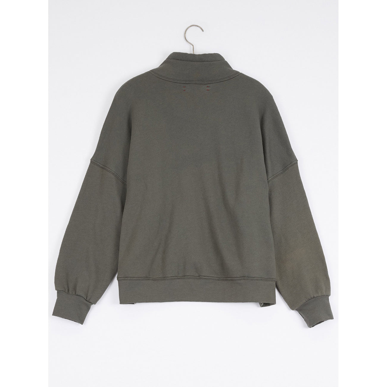 chase sweatshirt in olive stone