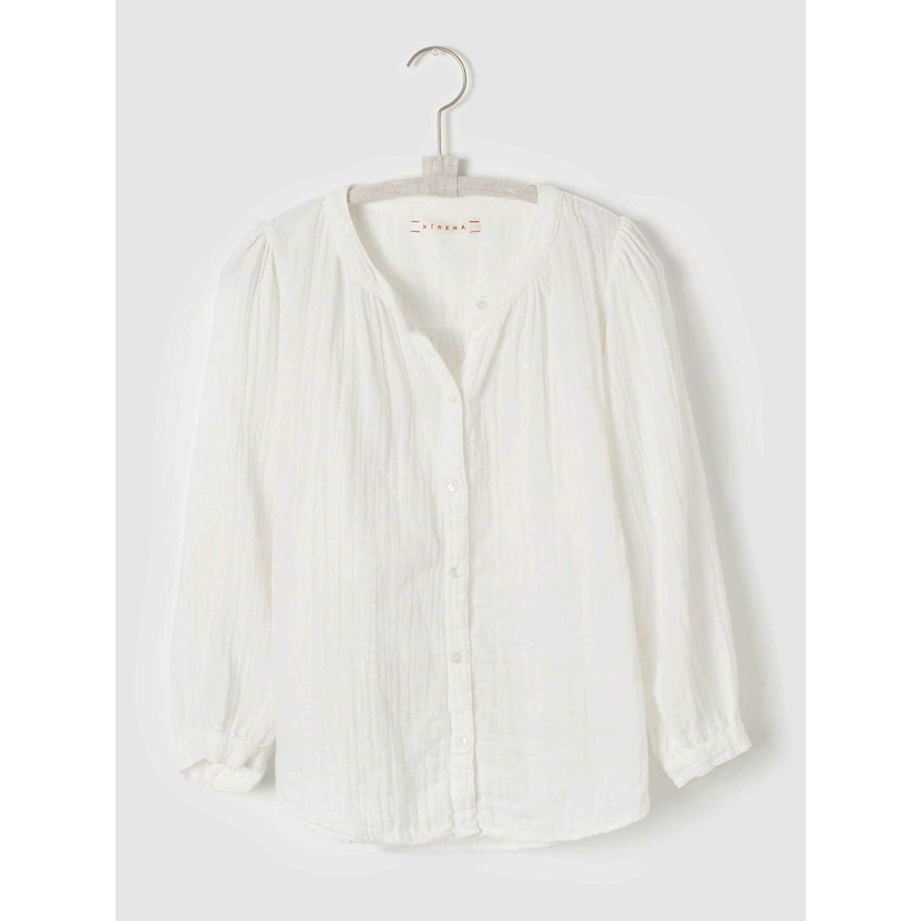 lark shirt in white wash