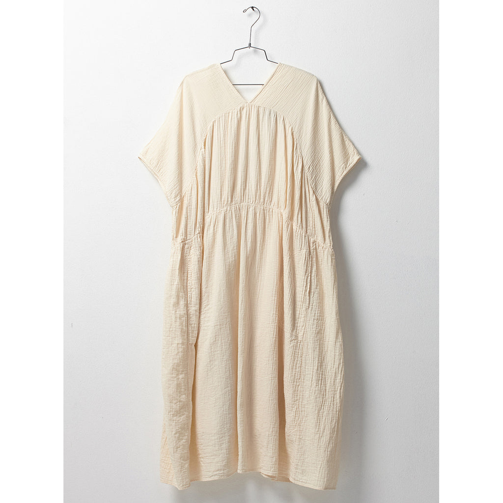 lihue dress w/ slip in kinari