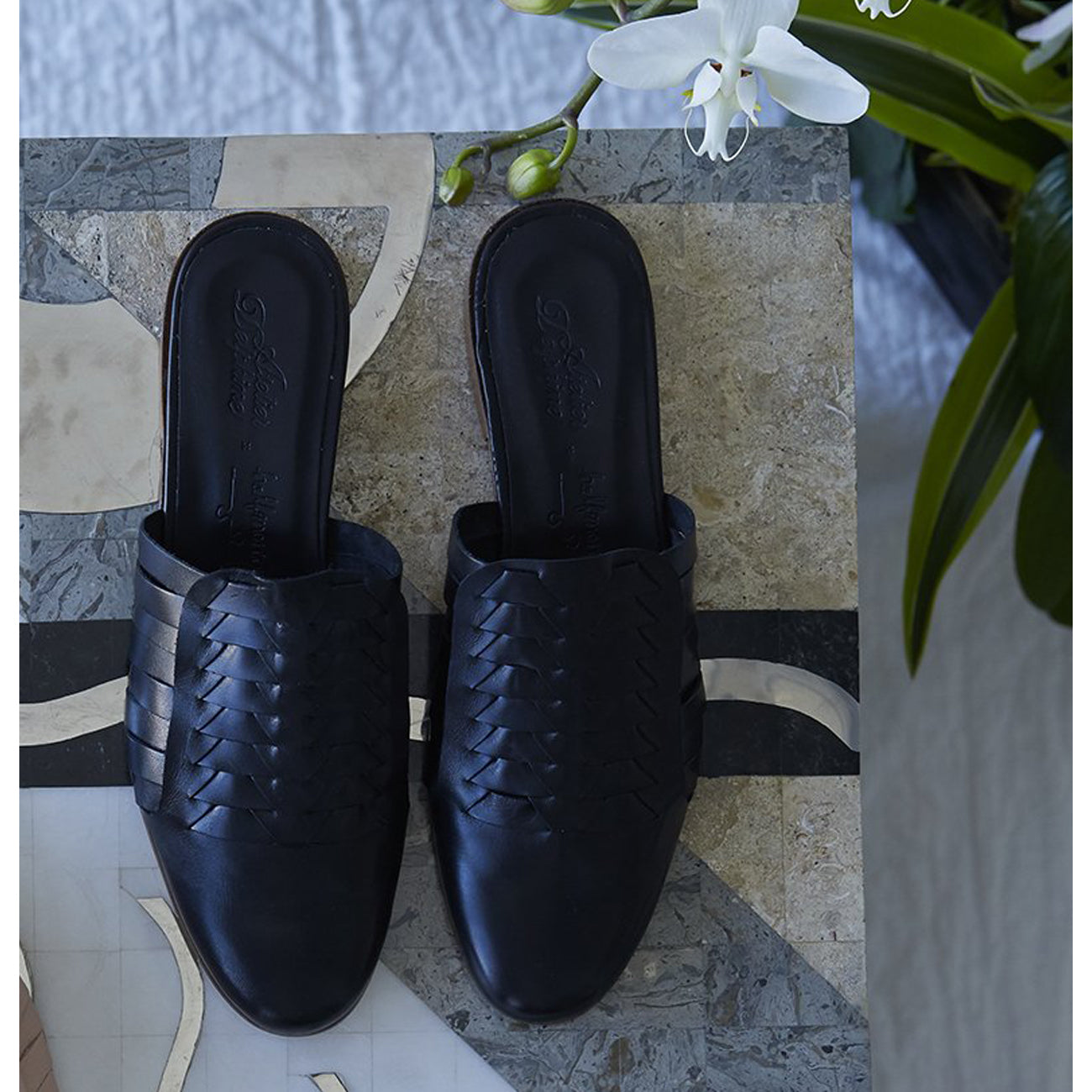 Atelier Delphine Minimalist Shoes in Black