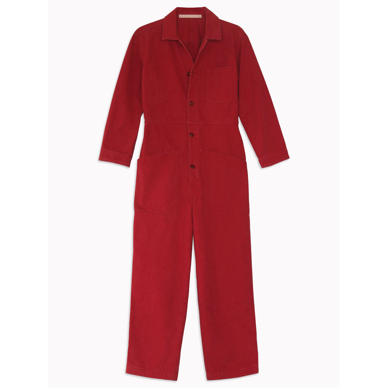 Bliss and Mischief Long Flight Suit in Raspberry
