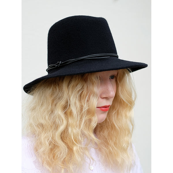 Brookes Boswell Jackson Hat in Black