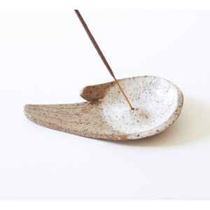 open palm incense burner