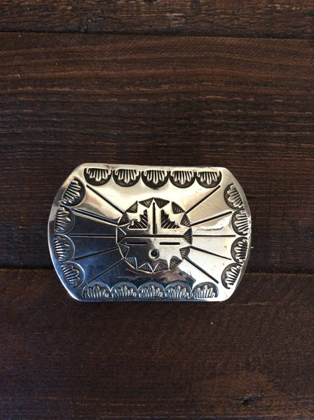 Native American Sun Belt Buckle