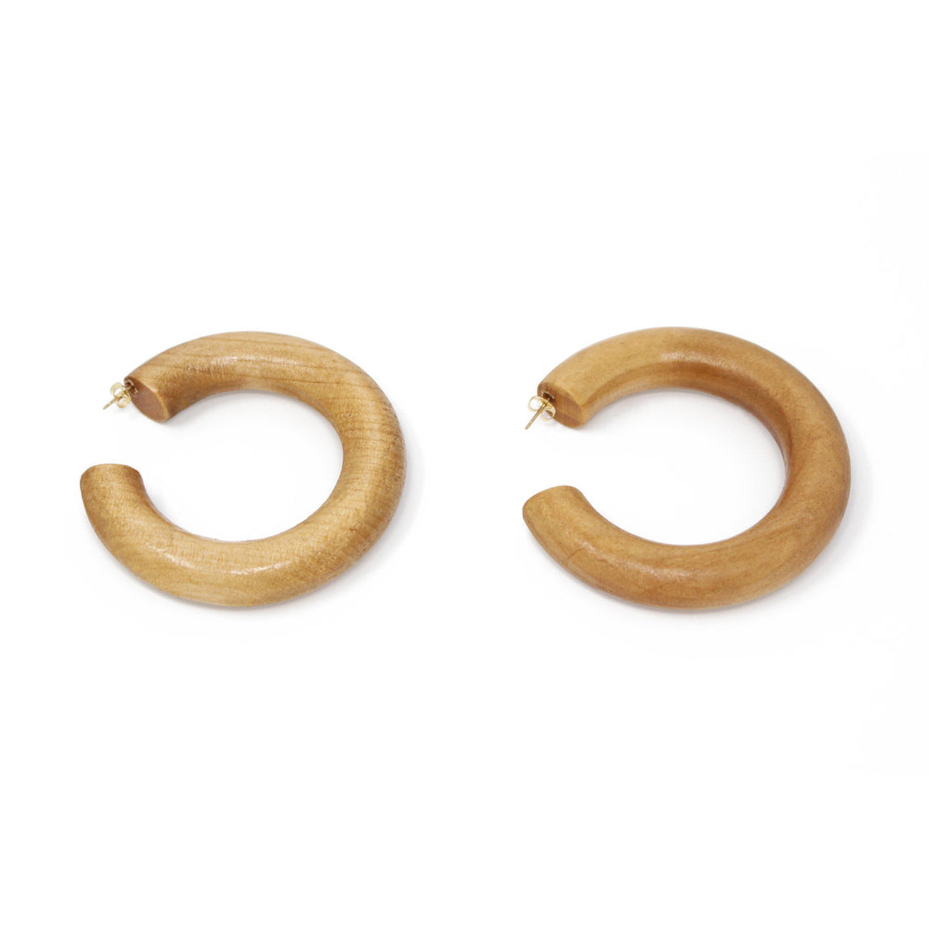 Sophie Monet Large Pine Hoops