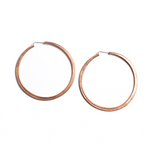 simple hoops: copper