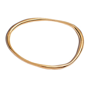 rialta bangle in brass