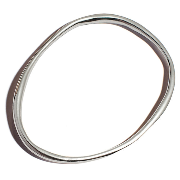Lila Rice Rialta Bangle in Sterling Silver