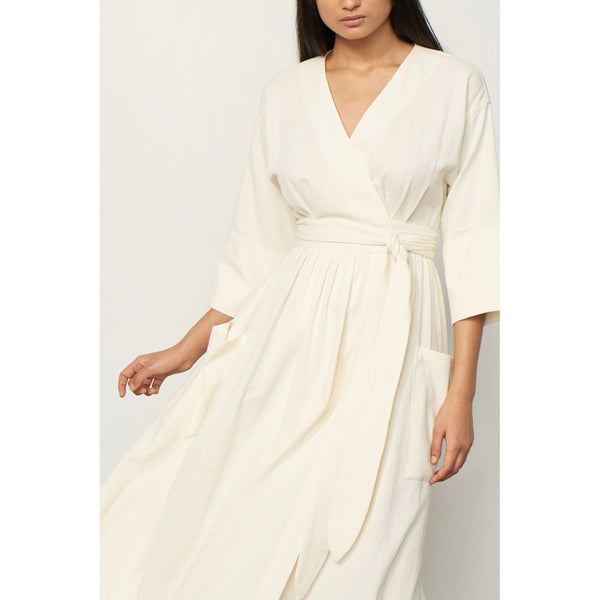 Mara Hoffman Anya Dress in Cream
