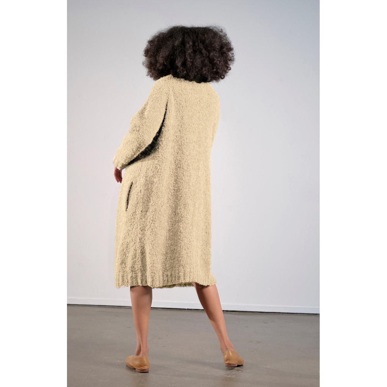 agnes sweatercoat in ginger