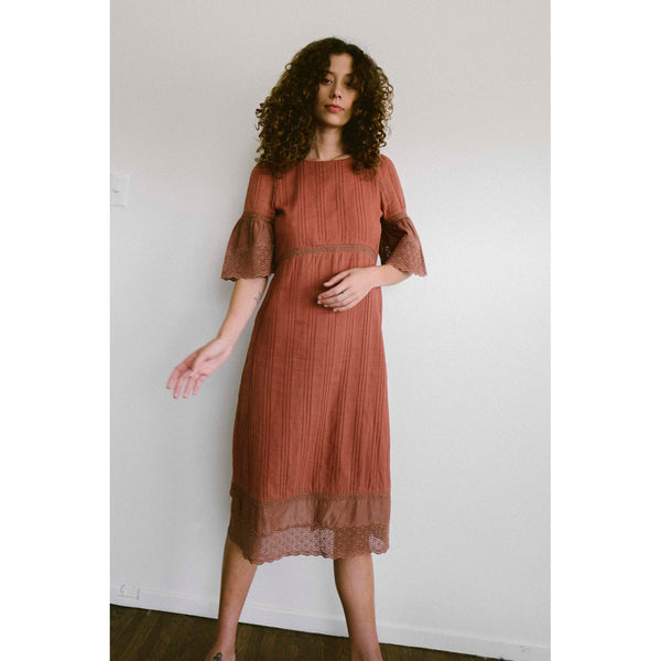 Maria Stanley Coco Dress in Clay