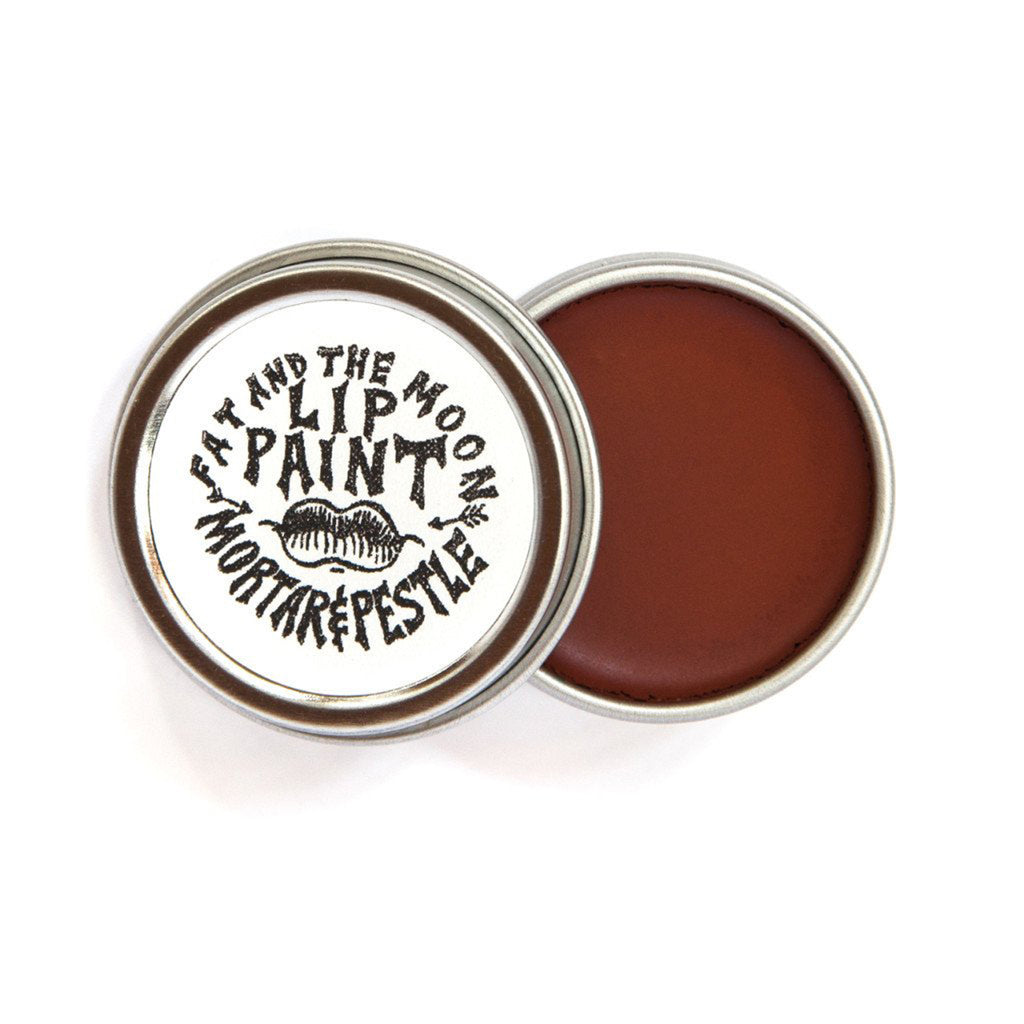 mortar & pestle lip paint
