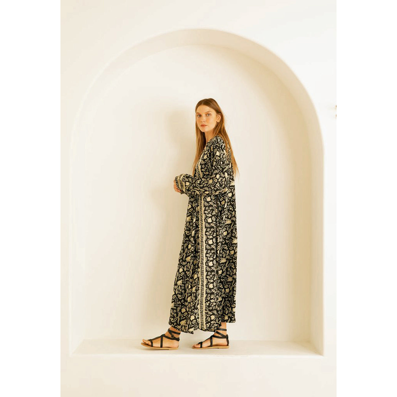 fiore maxi in autumn silhouette