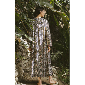 fiore maxi in vintage flowers midnight