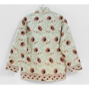nina jacket in vintage flowers apricot