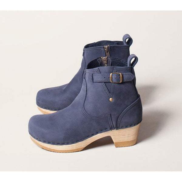 "No.6 5"" Buckle Boot in Navy"
