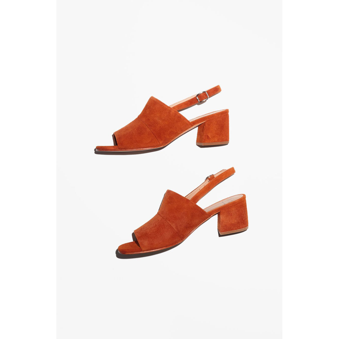 No.6 Layla Covered Heel in Turmeric