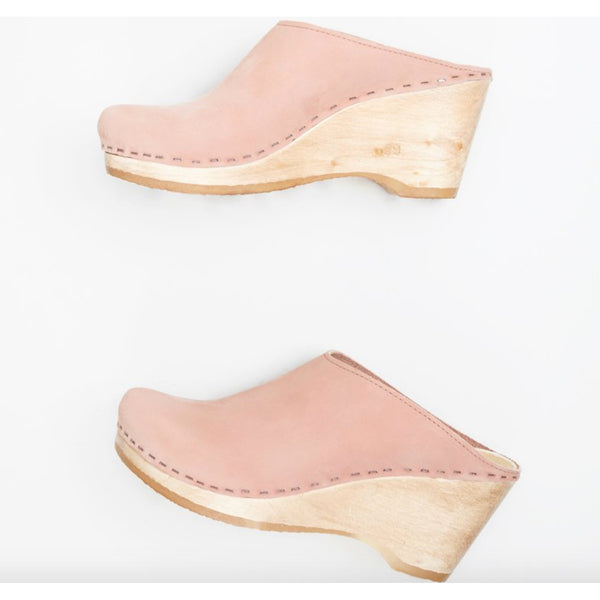 No.6 New School Clog in Pink Sand