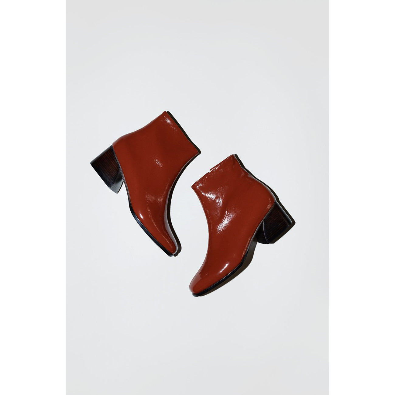 No.6 Jackson Ankle Boot in Tobacco Crinkle