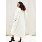 north moore coat in ivory