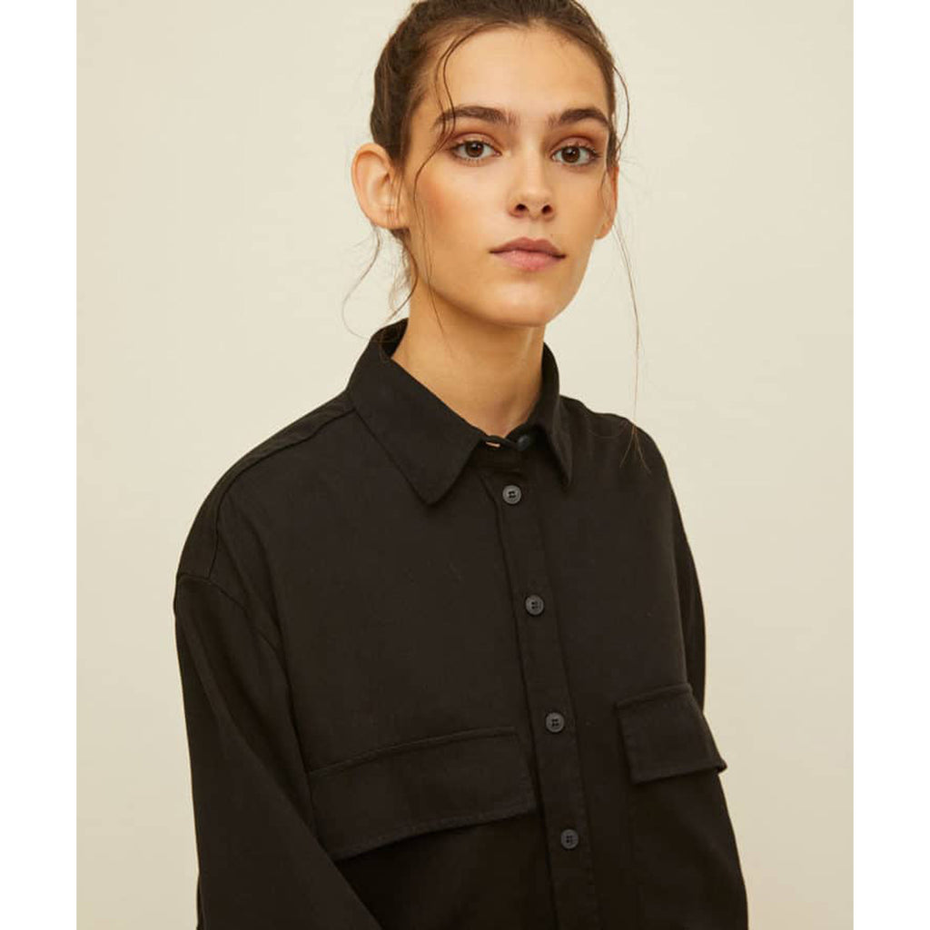 olivia shirt in black