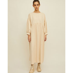 selva dress in sand