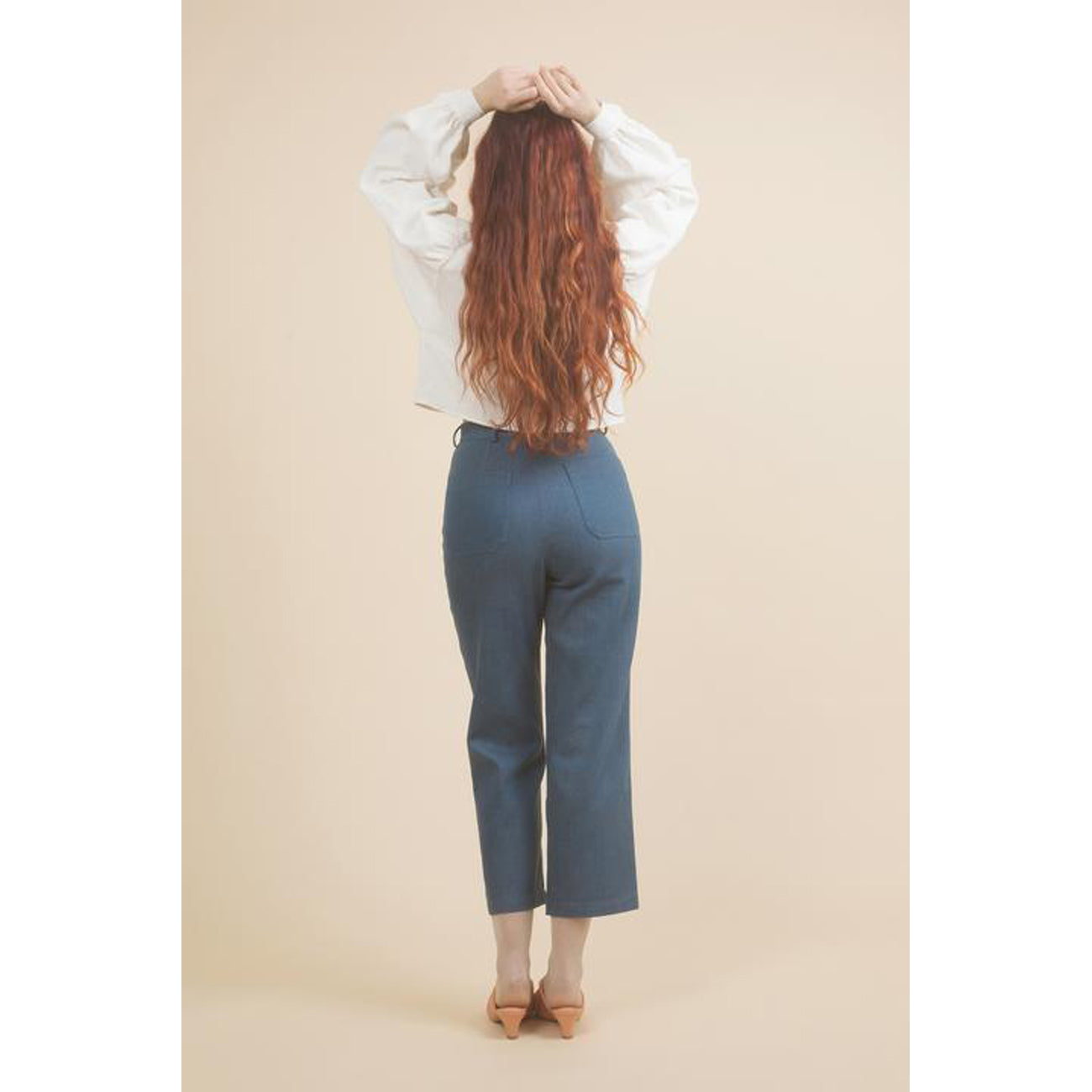 chorus jeans in ultramarine