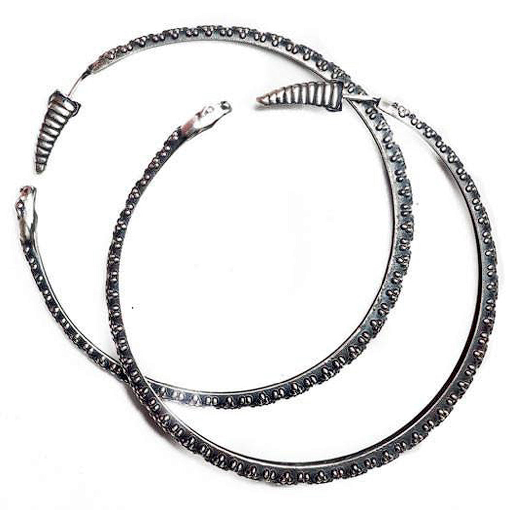 Peyote Moon Ouroboros Hoops